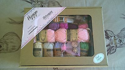 SCHEEPJES Hygge Cal crochet shawl kit , GIRLS NIGHT IN , Unopened , complete