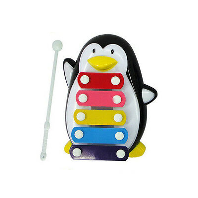 Baby Kid 5-Note Xylophone Musical Toys Wisdom Development Penguin HOT SALE
