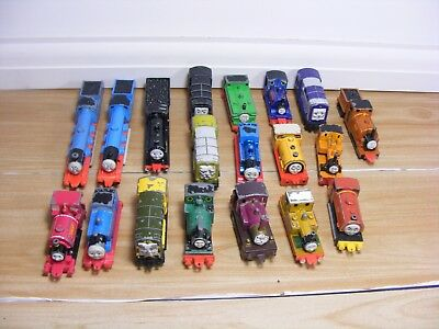 Bundle Of 19 Vintage Thomas The Tank Engine and Friends Diecast ERTL Toy Trains