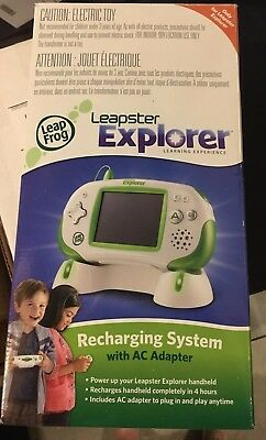 Leapster Leap Frog Explorer Handheld Learning Game System Green