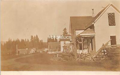 Emmett, Gem County Idaho - Early Real Photo Card published by Idaho View Co