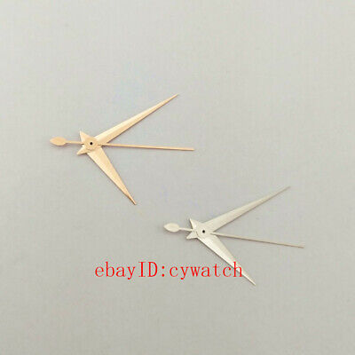 Rose Gold/Silvery Watch Hands Fit Miyota 8205/8215/821A,Mingzhu DG2813/3804