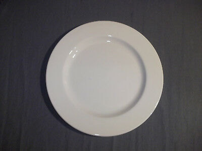 """Capital A Royal Doulton Product Hotel Porcelain 10 5/8"""" White Dinner Plate"""