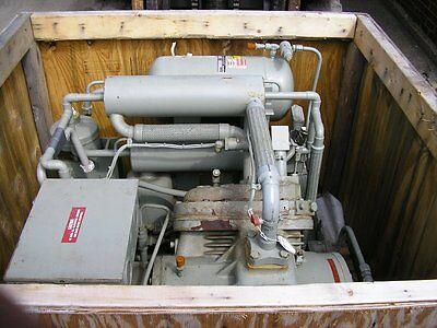 Koch Process Helium Compressor Model 1400 Item #8660