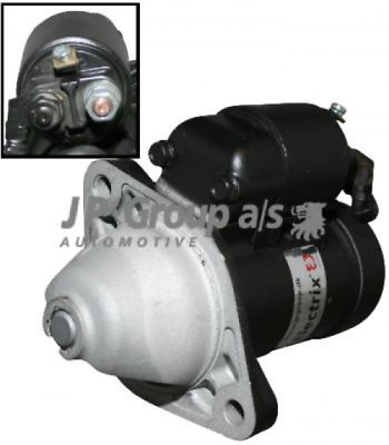 Starter JP GROUP 1290301100 GENERAL MOTORS: 93174028, 97189118|OPEL: 6202000