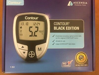 Bayer Contour Blood Glucose Monitoring System/Monitor/Meter + Test Strips