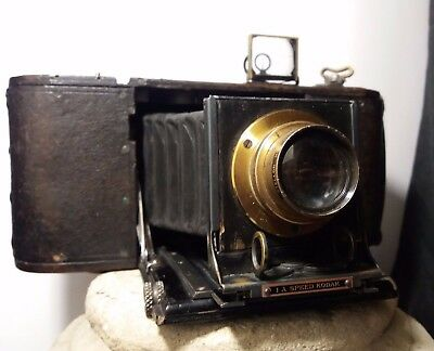 "ancien appareil photo "" 1A Speed KODAK "" BERTHIOT Paris Stellor N°3 /a restaurer"