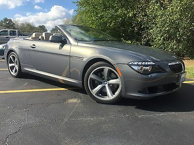 2008 BMW 6-Series  2008 bmw 650i convertible (only 22k miles)
