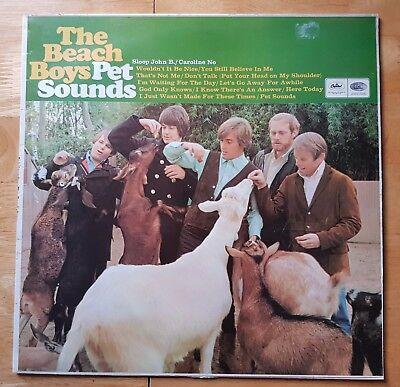 The Beach Boys - Pet Sounds. ST 2458. Stereo Press! Vinyl Album DT1/2 2458-A19