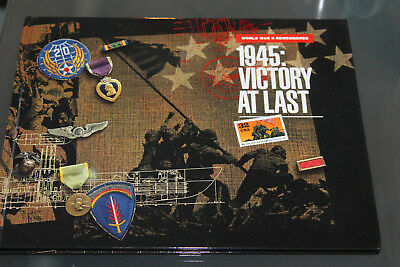 Usa 1995 - Presentation Book Complete - 1945: Victory At Last