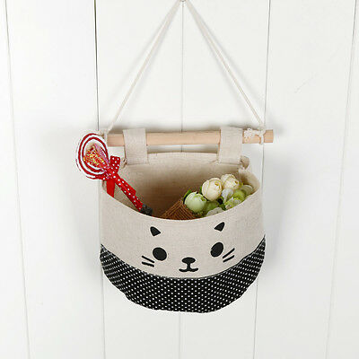 Home Kitchen Door Wall Hanging Organizer Pocket Bag Container Holder Storage Bag