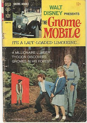 PRICED TO SELL! Gold Key, Walt Disney, The Gnome Mobile (1967) Photo Cover