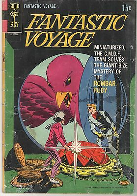 Fantastic Voyage #1 1969 Gold Key, TV series edition, hard to find!