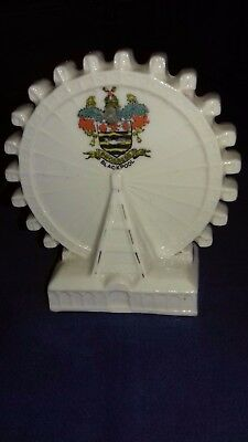 Crested China 'Blackpool'  ferris wheel by Arcadian