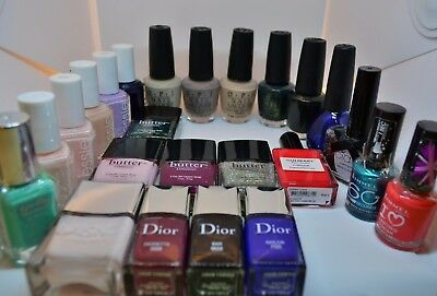 HUGE Nail varnish/lacquer clear out (24 bottles) | OPI, Essie, Dior...etc