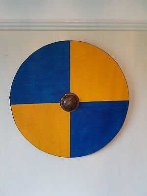 Viking/Norse wooden shield