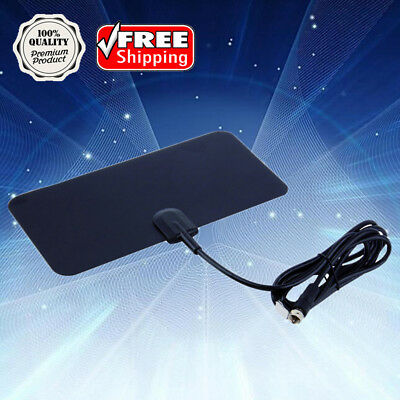Flat Indoor Digital High Def TV Antenna TVFox Style TVScout Style HDTV VHF UHF