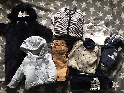 Baby Boy Bundle 0-3 Months * Next * Ralph Lauren * Mothercare * Junior J *