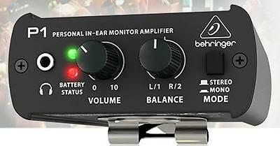 Behringer P1 Personal Monitor Amplifier - NEW!