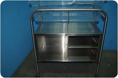 Smith & Nephew Mobile Stainless Steel Cart Cabinet @ (136282)