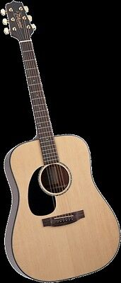 Takamine G340Lh Lefty Dread Body Acoustic Guitar - Gloss Natural - New!