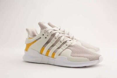 brand new 7a138 31bac AC7141 adidas men equipment support adv off white clear brown trace yellow