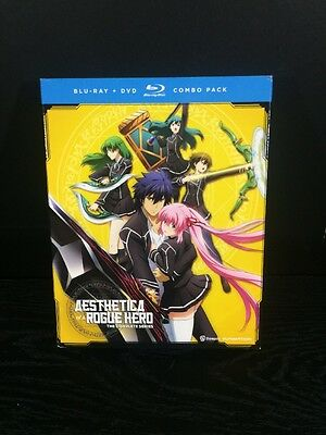 Aesthetica of a Rogue Hero: The Complete Series (Blu-ray/DVD Combo, 4-disc Set)