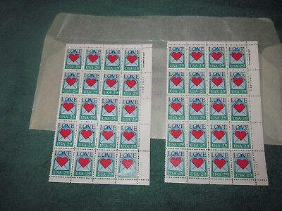 US Postage Stamp Love 29 Cent