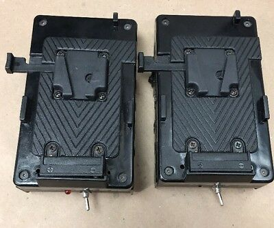 2- Battery Mount Plates-used untested