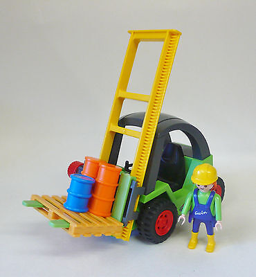 Playmobil Forklift With Accessories -  Vgc