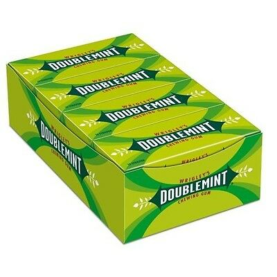 Wrigley`s Doublemint Chewing Gum (8 Packs x 15 Stripes = 120 Stripes)  New