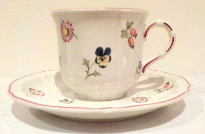 Villeroy Boch Petite Fleur Coffee cup and saucer
