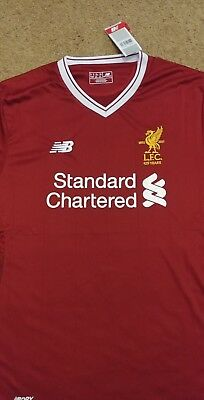 Liverpool FC LFC home shirt red 2017/18 2017 2018 XL Extra Large