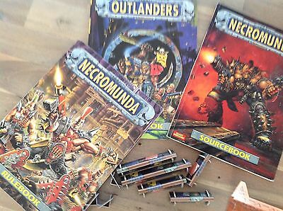 OOP Necromunda lot (Core Rules + Outlanders (incomplete))