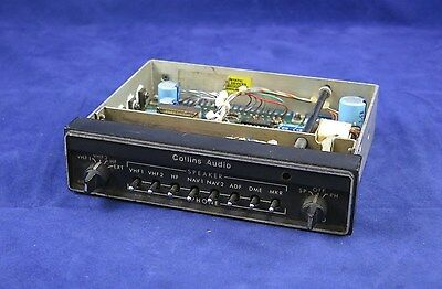 Rockwell Collins AUD-251H Audio Panel P/N 622-3101-011 Serviceable with FAA 8130