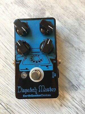 Earthquaker Devices Dispatch Master Delay Reverb with Original Box Manual