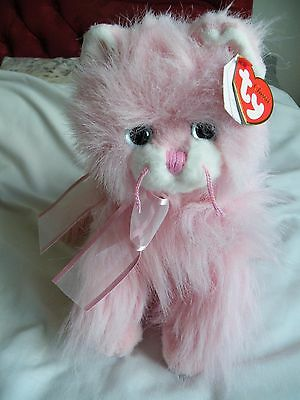 "Classic TY Pink Cat ""Jeweled"" - Highly Collectable"