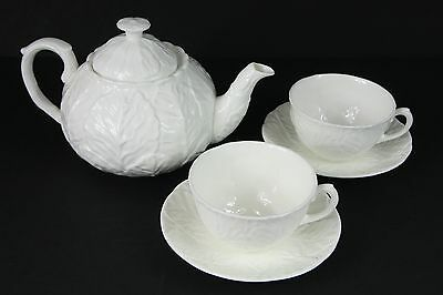 Coalport Countryware 1 1/2 pint Teapot 2 cups & Saucers 1st Quality Tea for Two