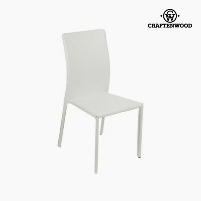 Chaise en pvc blanc by Craftenwood