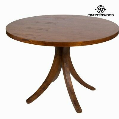 Table ronde claudia obscure - Collection Serious Line by Craften Wood