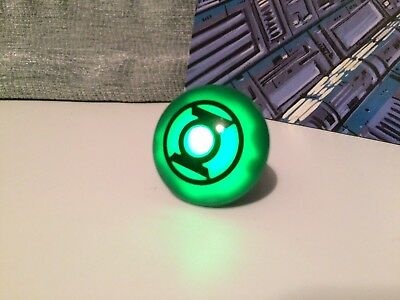 DC Comics Green Lantern Ring Lights Up And Flashes !