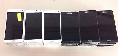 29 Lot Samsung Galaxy Note 4 N910w8 GSM For Parts Repair Used Wholesale As Is