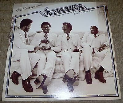 The Impressions/First Impressions.1975 LP. in excellent condition