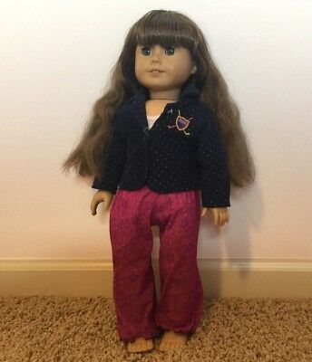 "American Girl Molly 18"" Doll Pleasant Company Retired"