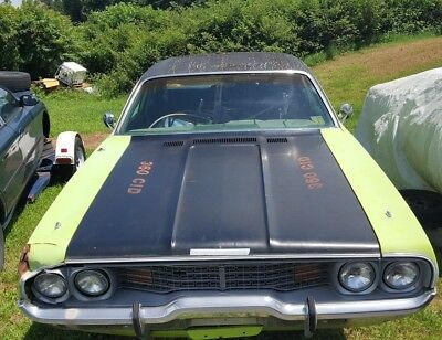 1973 Plymouth Satellite  1973 Plymouth Satellite 4 Door PARTS ONLY NO RESERVE