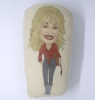 Dolly Parton Inspired Plush Doll/Stuffed Soft Toy/Plushie Ornament/Country Music
