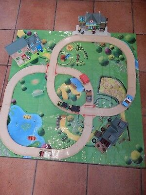 Postman Pat Snap Trax Playset With Buildings, Figures, Play Mat And Vehicles