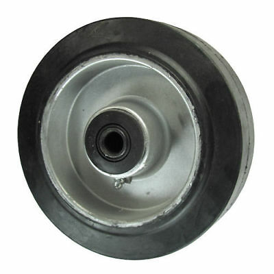 """6"""" x 2"""" Rubber on Aluminum Wheel for Casters or Equipment Service Caster Brand"""
