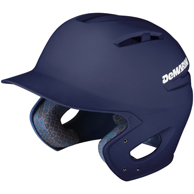 Demarini Paradox Adult Baseball Batting Helmet - NAVY BLUE
