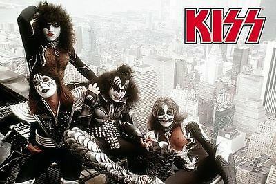 Kiss: poster empire state building poster new sealed
